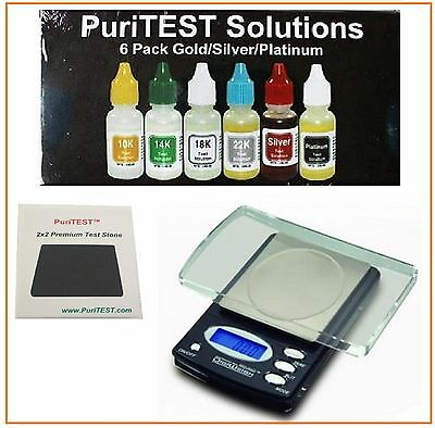 Electronic Gold Test Acid Kit 10K 14K 18K Silver Tester Detector Jewelry Testing