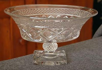 """Lovely Imperial """"cape Cod"""" 10-Inch Footed Pedestal Bowl #2"""