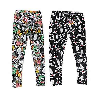 Looney Tunes Womans  Leggings  Marvin The Martian And Friends Size 12 And 16