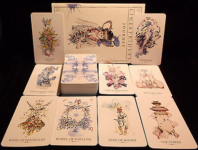 Sealed & Brand New! Linestrider Tarot Card & Book Oracle Find Answers You Seek!!