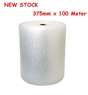 1 Roll Bubble Wrap 400mm x 100 Meter White Clear Bubblewrap Packaging Protective