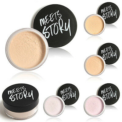 Women's Trendy Makeup Loose Face Powder Setting Mineral Perfecting Finishing