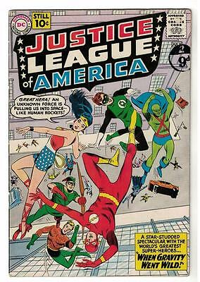 DC Comics VG+/FN- JUSTICE LEAGUE AMERICA  5 superman flash  batman