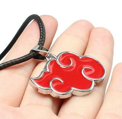 FD4781 Naruto Sasuke Itachi Akatsuki Cloud Pendant Necklace Jewelry