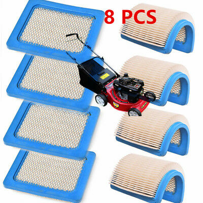8X HEPA Air Filters For Briggs & Stratton 4101 491588 399959 050007 119-1909 @L