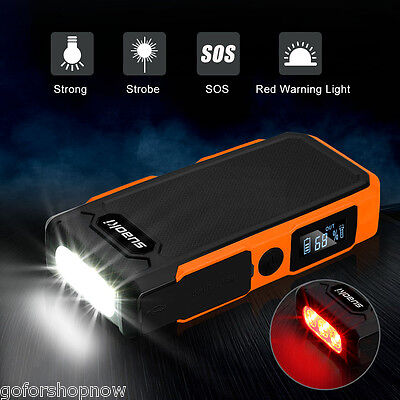 Suaoki 800A Peak Auto Jump Starter Pack Car Emergency Charger Booster Power Bank