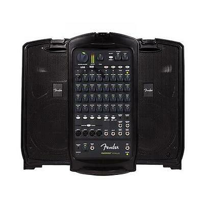 Fender Passport VENUE 120V US Self Contained Portable PA System, Black