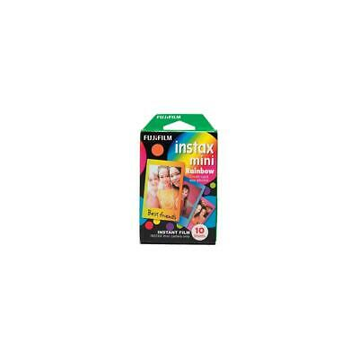 Fujifilm Instax Mini Rainbow Film, 10 Sheets #16437401