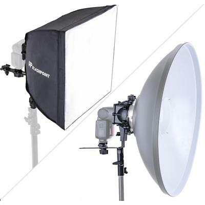"Glow SpeedLight Bracket for Beauty Dish and 16X16"" Softbox #GLBDSM01"