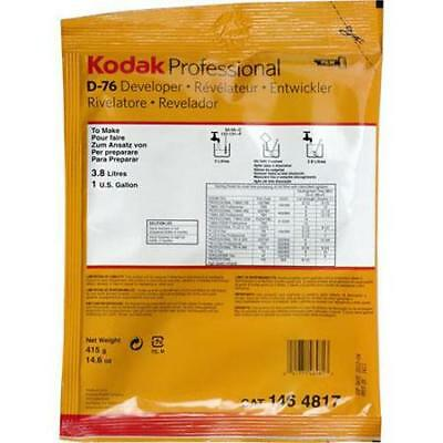 Kodak D-76 Black  White Film Developer, Powder to Make 1 Gallon. #5160296