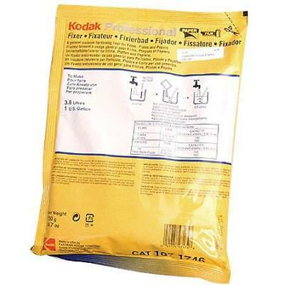 Kodak Fixer Black  White Film and Paper, Powder to Make 1-Gallon. #5160320