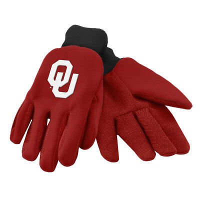 Official Oklahoma Sooners University Licensed NCAA College Utility Work Gloves
