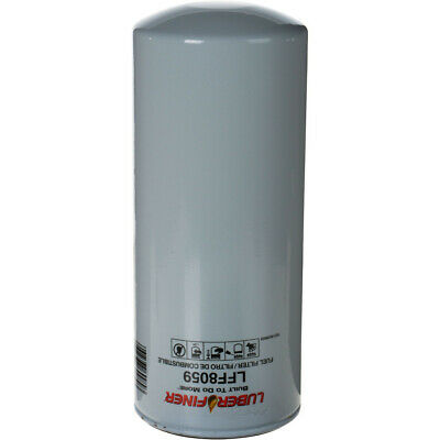 6 Luberfiner LFF8059 Fuel Filter Replaces P9626 33721 F75929 LFF8059 FF1176