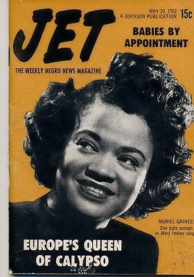 Jet Magazine May 29 1952 Muriel Gaines Queen of Calypso Babies by Appointment