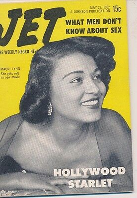 Jet Magazine May 22 1952 What Men don't know about sex Mauri Lynn Hollywood Star