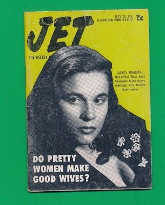 JET MAGAZINE May 28 1953 Candy Bowman wife pretty women make good wives