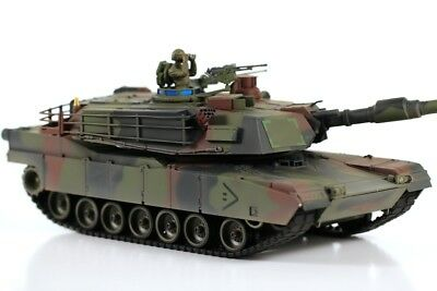 VS Tank Pro 1:24 Scale US M1A2 ABRAMS NATO Camouflage RC Battle Tank (Infrared V