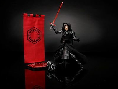Sdcc 2016 Kylo Ren Hasbro Exclusive Star Wars Black Series Figure Sold Out Rare