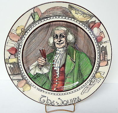 Royal Doulton Professionals Seriesware Plate The Squire 10½ Inch Diameter