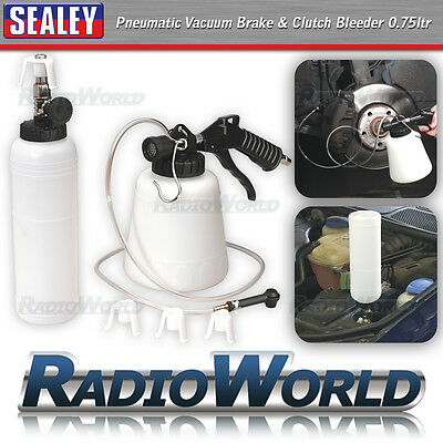 Sealey Pneumatic Vacuum Car Van Brake Clutch Bleeder 0.75ltr DIY Garage Service