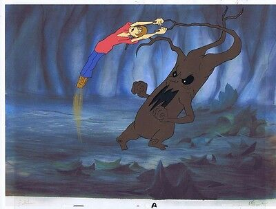 The 13 Ghosts of Scooby Doo Original Production Animation Cel w/ Copy BG #A5568