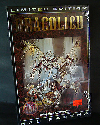 ral partha dungeons & dragons Dracolich boxed set sealed  01-505 ultra rare