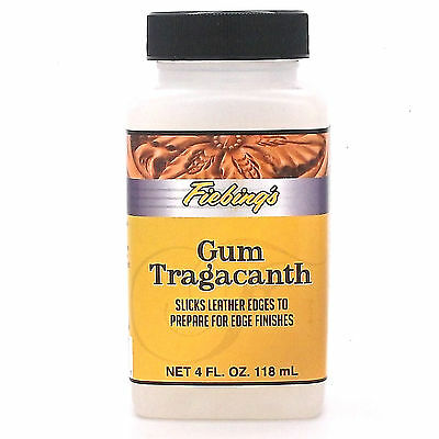 Gum Tragacanth 4 oz. Edge Prep 2620-02 by Fiebing's