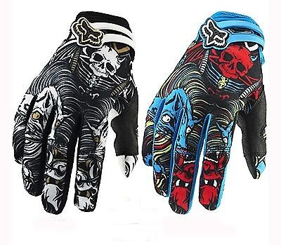 FOX MOTOCROSS NEW Flexair Cycling Gloves * Black or Blue * Sizes M L XL
