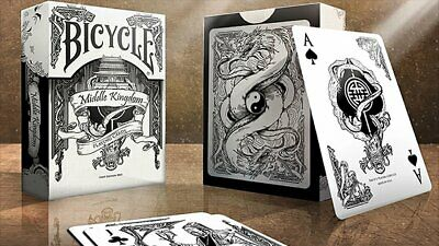 Bicycle Middle Kingdom (White) Poker Spielkarten