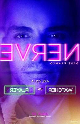 Nerve  - original DS movie poster - 27x40 D/S Advance B