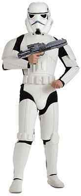 Stormtrooper Storm Trooper Star Wars Fancy Dress Halloween Deluxe Adult Costume
