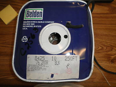 Belden: 8425, 76.2MTR Black Multiconductor Microphone.  New Old Stock  <