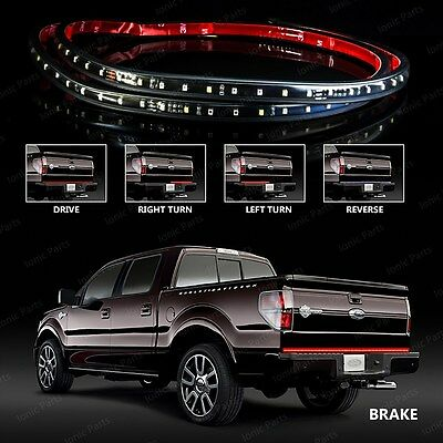 """60"""" Inch 5-Function Universal LED Tailgate Light Bar Strip Ford F-250 Super Duty"""