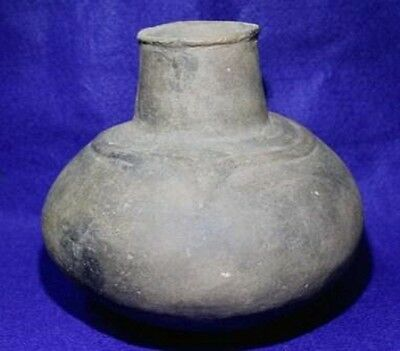 Vintage Antique Circa 12-1400AD Poinsett Co., AR. Miss. Ogee Waterbottle Pottery