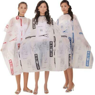 Pro Salon Barber Hairdressing Hairdresser Hair Cutting Gown Cloth Cape Adults H