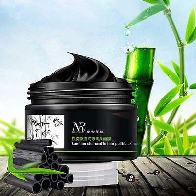 Beauty Deep Cleansing Blackhead Remover Purifying Peel Acne Face Mask Black Mud