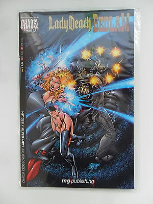 1x Comic Chaos! Chrossover #9: Lady Death / Bedlan Zustand 1