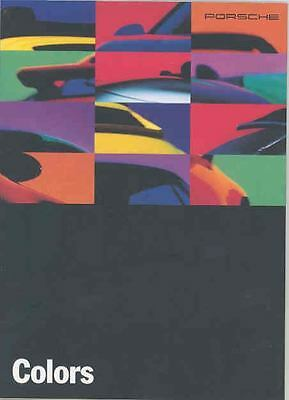 1994 Porsche 911 968 928 Paint & Interior Brochure mx3954-DWLRA8