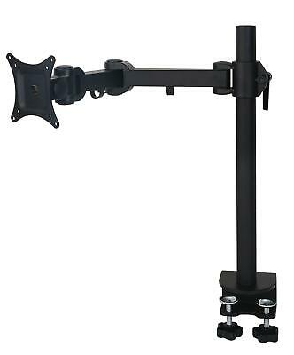 "MDM11S 15-27"" LED/ LCD Monitor Stand Desk Mount Bracket Tilt Swivel Rotate Arm"