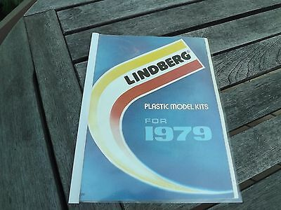 1979 LINDBERG Toy Fair Catalog 26 Pages Military, Automotive, Western Model Kits