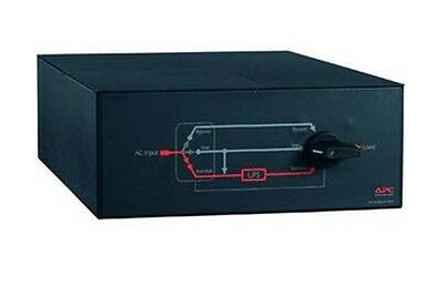 APC Service Bypass Panel SBP16KP Switch RackMountable AC 200/240 V 3-out 4U