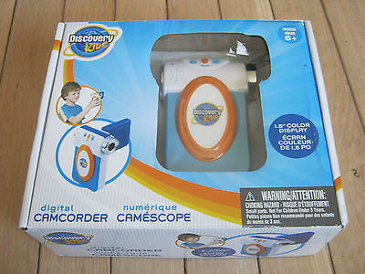 Discovery Kids Digital Camcorder ~ New In Box ~ Color Lcd Display