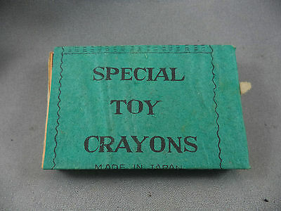 Special High Class Toy Crayons Made in Japan 1950's Gum Ball Premium