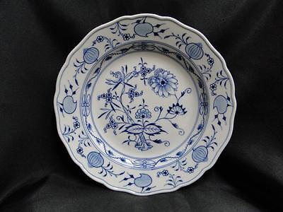 """Meissen Blue Onion, """"X"""" Backstamp with 2 Slashes: Dinner Plate (s) 10"""""""