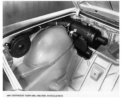 1960 Chevrolet Corvair Heater Factory Photo ca5665