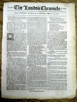 1769 newspaper BRITISH TAXATION The Townshend Acts LED toTHE AMERICAN REVOLUTION