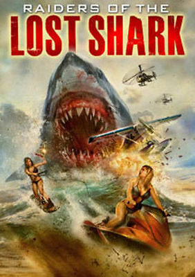Raiders Of The Lost Shark (2015) USED VERY GOOD DVD