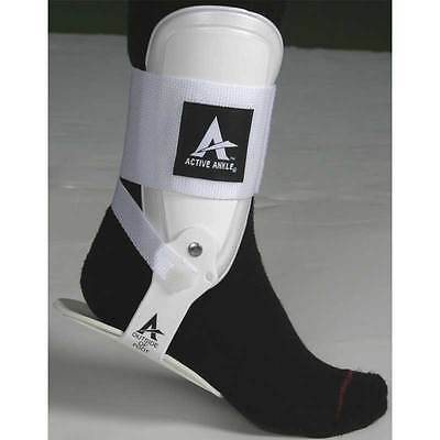 Active Ankle T2 Ankle Guard Brace Level 3 Left Or Right Small White Multi Sport
