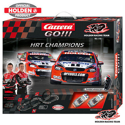 Carrera Go 1/43 Set Slot Car Hrt Champions Car62400