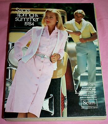Vintage Sears Spring And Summer Catalog 1984-Sears
